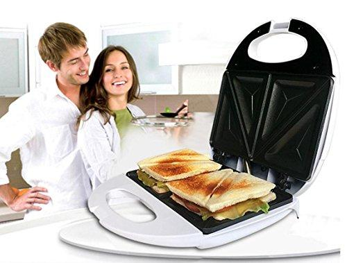 HaoyiShang Sandwich Maker Breakfast Machine with Multifunction Automatic Non-Stick Plates