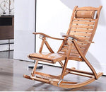 Happy Together Garden sun lounger lounge leisure bamboo lounger reclining couch beach terrace chair