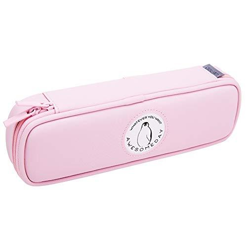 HAWSOIFHDUUUS Multi-Function Pencil case Pencil case Middle School Student Fresh Stationery Storage Box Pencil Bag Student Supplies Waterproof Cherry Color