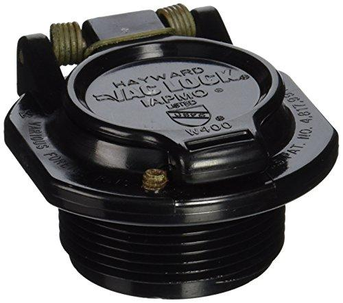 Hayward W400BBKP Black Free Rotation Vacuum Lock Safety Wall Fitting Replacement Navigator Pool Cleaners