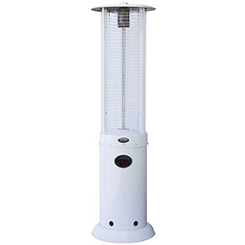 Heat-Outdoors Goliath Patio Heater, White, One size