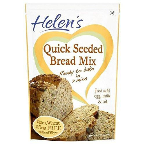 Helen's Gluten & Wheat Free Quick Seeded Bread Mix 300g - Pack of 2