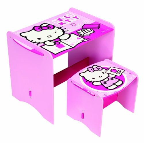 Hello Kitty Kids' Desk and Stool by HelloHome