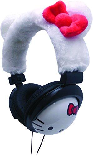 Hello Kitty Zebra Print DJ Headphones (35209)