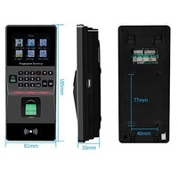 HFeng Door Access Control System Kit IP/TCP RFID Biometric Fingerprint Keypad Electric Bolt Lock+ Power supply Support USB/RS485 Attendance Machine 3000 user capacity 125KHz EM Key card