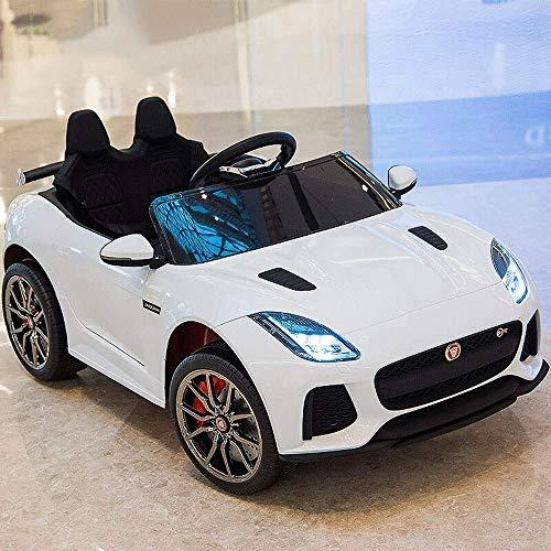 HHtoy Children's Electric Car Four-wheeled Human Toy 2.4G Remote Control Rocking Racing 4x4 Kids With Control LED Lights And Music 12v Child's On Boy Girls Birthday Toy For Gift