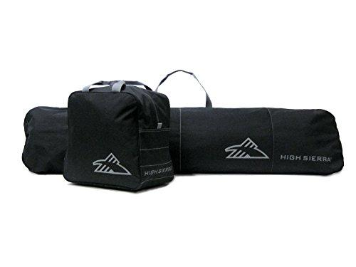 High Sierra Sports Company S4052-0 Snowboard Sleeve and Boot Bag Combo Black