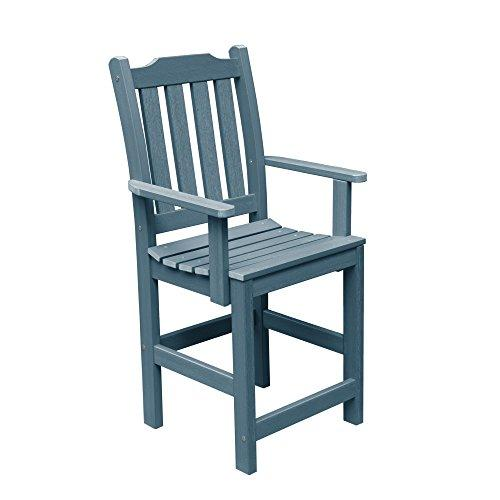 HIGHWOOD Lehigh Counter Height Armchair, Nantucket Blue