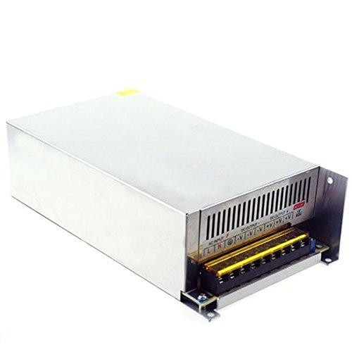 Hillhead Universal AC170-250V to DC12V 60A 720W Switch Power Supply Driver Transformer LED Strip Light (Size : Size: 242mm*124mm*65mm)