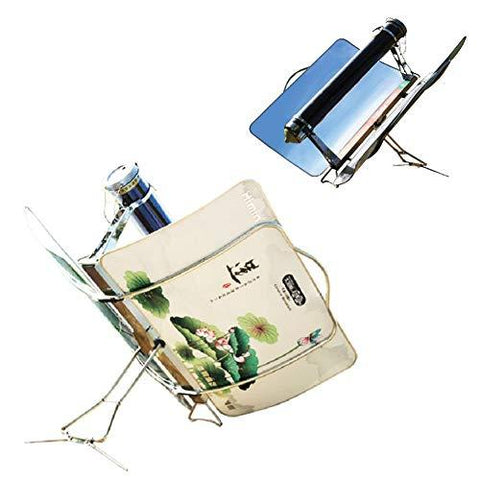 Himamk Portable Solar Cooker, Solar Stove, Solar Oven, Solar Grill, Fuel Free Barbecue, Must-have for Picnic, Camping,Fishing 78 * 16 * 55cm