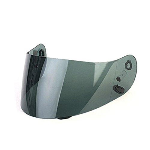 HJC HJ-09 Shield / Visor Gold,Silver,Blue,Smoke,Clear, Pinlock Ready,for AC-12, CL-15, CL-16,CL-17,CL-SP,CS-R1,CS-R2,FS-10, FS-15, IS-16, FG-15 Kawasaki ZX, Kawasaki ZXSP, and Joe Rocket RKT101,RKT201 and RKT-Prime helmets, Bike Racing Motorcycle Helmet A