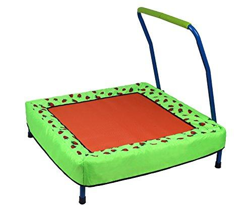 HLC Folding Junior Trampoline Outdoor Indoor Baby Toys with Handle for Kids Childrens, Best for gift