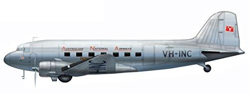 Hobby Master 1/200 HL1306 Douglas C-47 Dakota VH-INC, Australian National Airways, 1950s-1960s