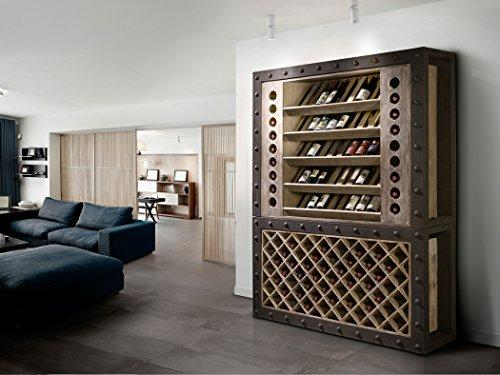 Home Decorate – Furniture Wine Rack 160 Roma