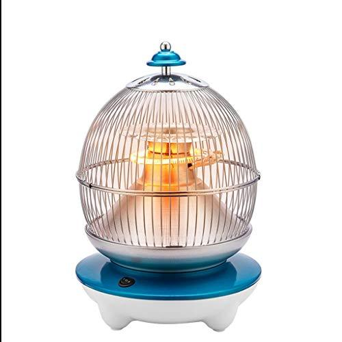 Home Heater, Electric Heater, Radiator - Bird Cage Exterior - Carbon Fiber Heating - Energy Saving, Low Light - Blue @Greawei