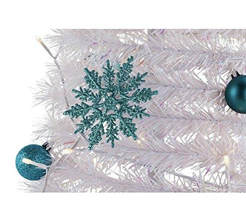 home pop up decorated christmas tree glacier