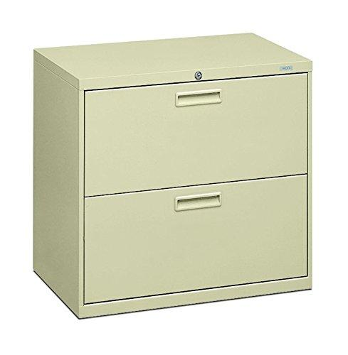 "Hon 2-Drawer Office Filing Cabinet - 500 Series Lateral File Cabinet, 19.25"" D, Putty (H572)"