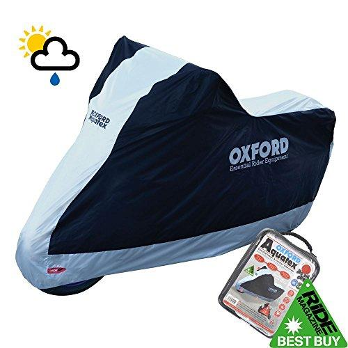 Honda CB125F Oxford Motorcycle Cover Waterproof Motorbike White Black