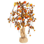 Honey In Me Large Willowing Pumpkin Fall Medley 19 x 5 Artificial Harvest Plant Tree