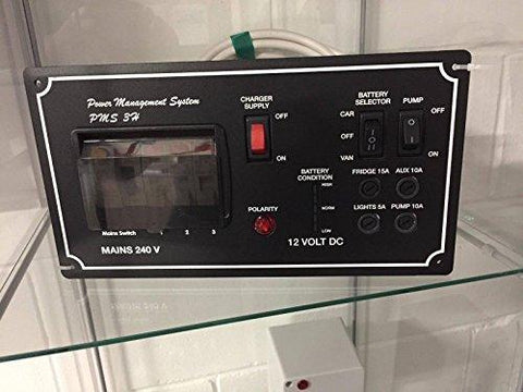 Horizontal PMS Campervan Motorhome Power Management System 240V Battery Charger