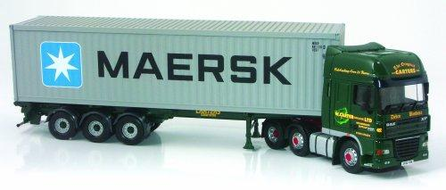 Hornby Corgi CC14104 1:50 Scale DAF 105 Skeletal W Carter Haulage Ltd Woodbridge Suffolk Road Transport Hauliers Of Renown Limited Edition
