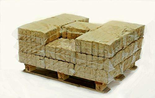 Hotblocks British Made, Eco winter WOOD BURNER/MULTI-STOVE FUEL.Half Pallet of 576 Briquettes for use in wood burning stoves, wood ovens, log boilers, chimeneas & firepits