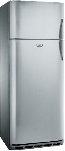 Hotpoint BDC M 45 AA V IXS/HA Freestanding 332L 82L + Stainless Steel Fridge and Freezer – Freestanding Fridge Freezer, High Post, A +, Stainless Steel, N-T, 4 *)