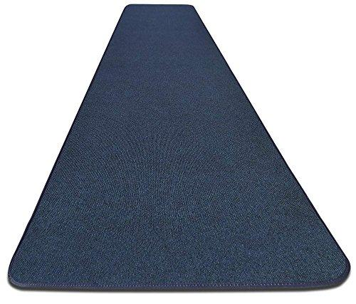 House, Home and More - Outdoor Carpet Runner - Blue - 3' x 15'