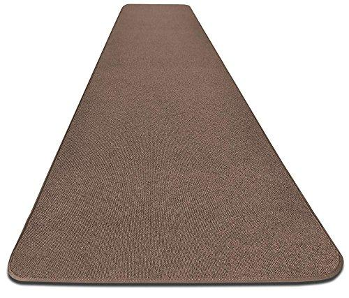 House, Home and More - Outdoor Carpet Runner - Brown - 3' x 15'