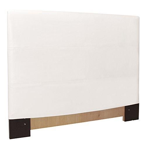 Howard Elliott 124-190 Headboard Slipcover, King, Avanti White