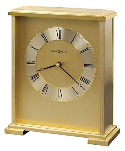 Howard Miller 645-569 Exton Carriage Table Clock, Metal Brass, 18x8x22 cm