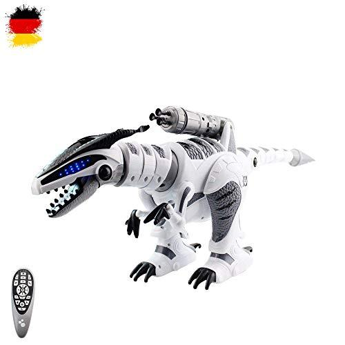 HSP Himoto XXL RC Remote Controlled Dinosaur T-Rex Robot Realistic Movements Programmable Combat Function and with Many Special Features such as Music, Dance and Shooting Function