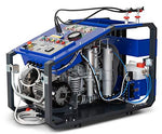 HTD breathing air compressor MCH13 Ergo 235 litres/min. 330bar, double filter system suitable for tropical use