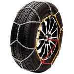 "Husky Sumex Winter Classic Alloy Steel Snow Chains for 14"" Car Wheel Tyres (155/65 R14)"