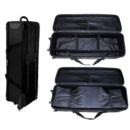 HWASTUDIO ® (KC002) bag Pad Camera Video Tripod Carry Bag Case High Quality Carry And Protect fly case flight case wheels (KC002)