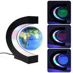 HXMSXROMID Globe Night Lights Magnetic Floating LED Colourful Desk Lamp World Map for Kids Education Teaching Home Office Decoration Lighting Birthday Gift