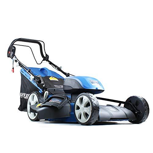 Hyundai HYM120LI510-BARE 120V Lithium Ion Cordless Battery Powered Self Propelled Lawn Mower (Battery & Charger Not Included)