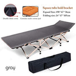 Hzl Folding Bed Camping Cot, Portable Easy Set Up Sleeping Cot with Carry Bag for Outdoor Home Office, 5 models,3