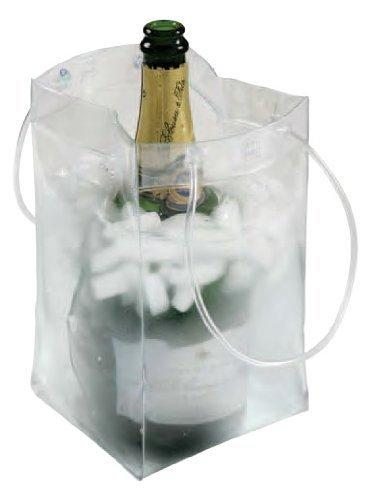 Ice Bag Collapsible Wine Cooler Bag, Set of 3