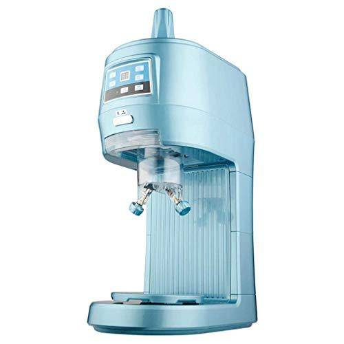 Ice Crusher Dellt-Commercial Ice Machine, Tea Snow Machine, Electric Snowflake, Ice Machine, Cold Drink Shop Food Grade Material Snow Cone Sand Ice Machine, Shaved Ice Volume 70Kg , XSSD , blue , 43 * 24.5 * 66cm