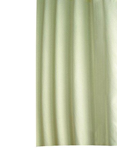 Ice Grey Shower Curtain Anti-Mould/Anti-Bacterial Water Repellent Fabric Eco Friendly Product for Bathroom/Shower Curtain Rings, 100 % polyester, Green, 300 x 200 cm