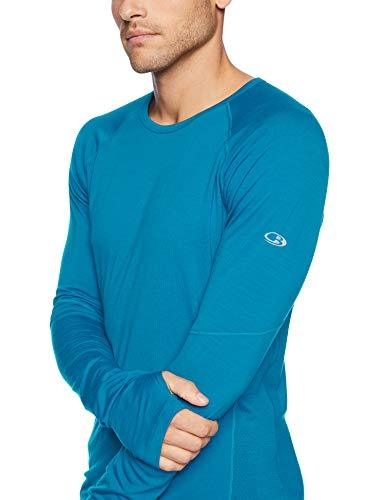 c9c622299 ... Icebreaker Merino Men's 150 Zone Long Sleeve Crewe Base-Layer-Tops,  Alpine/