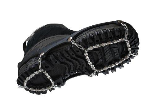 ICEtrekkers Diamond Grip - Ice Grips/Ice Cleats/Micro Crampons (Small 35-37)