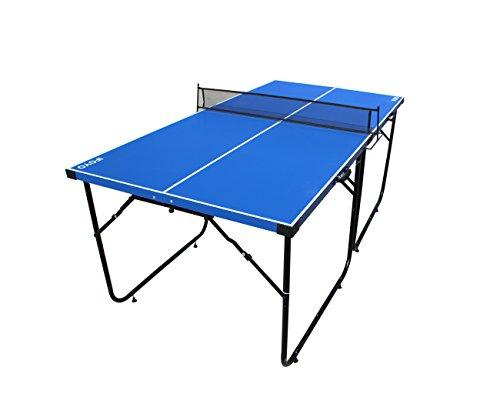 Ifoyo 6 Feet Table Tennis Ping Pong Table Top With Folding Legs And Net For  Kids