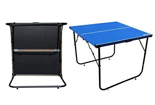 ... IFOYO Table Tennis Table, 6ft Midsize Ping Pong Table 4 Piece Folding  Portable Indoor ...
