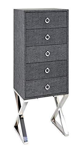 IMAX 60499 Chests/Cabinets/Storage/Trunks Gray