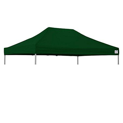 Impact Canopy 10x15 Canopy Pop Up Tent Replacement Top, Impact Canopies Instant Outdoor Shelter Replacement Top, Forest Green