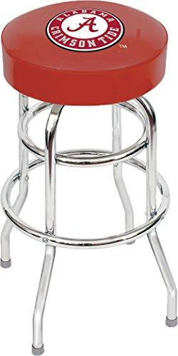 Imperial Officially Licensed NCAA Furniture: Swivel Seat Bar Stool, Alabama Crimson Tide