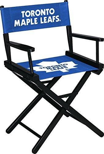 Imperial Officially Licensed NHL Merchandise: Directors Chair (Short, Table Height), Toronto Maple Leafs