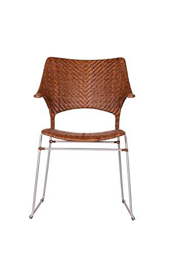 Inspired by David Francis D8100-EB Zen Armchair, Brown